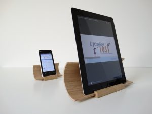 Support tablette - smartphone