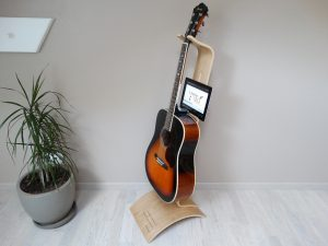 Poz'Music - support guitare / tablette