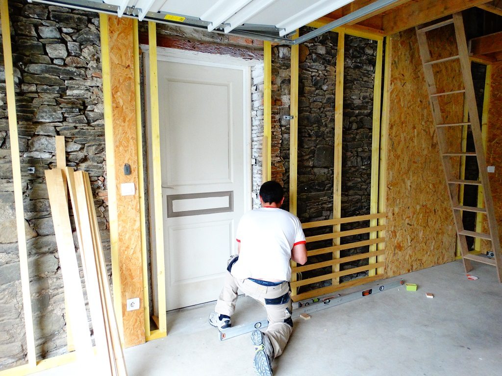 Amenager un garage en atelier - Amenagement entree de garage ...