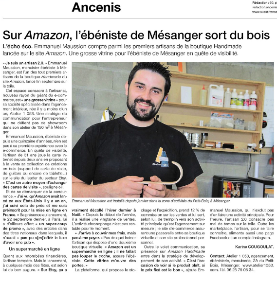 6 ouest france 1 - PRESSE