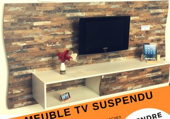 MEUBLE TV SUSPENDU ORIGINAL