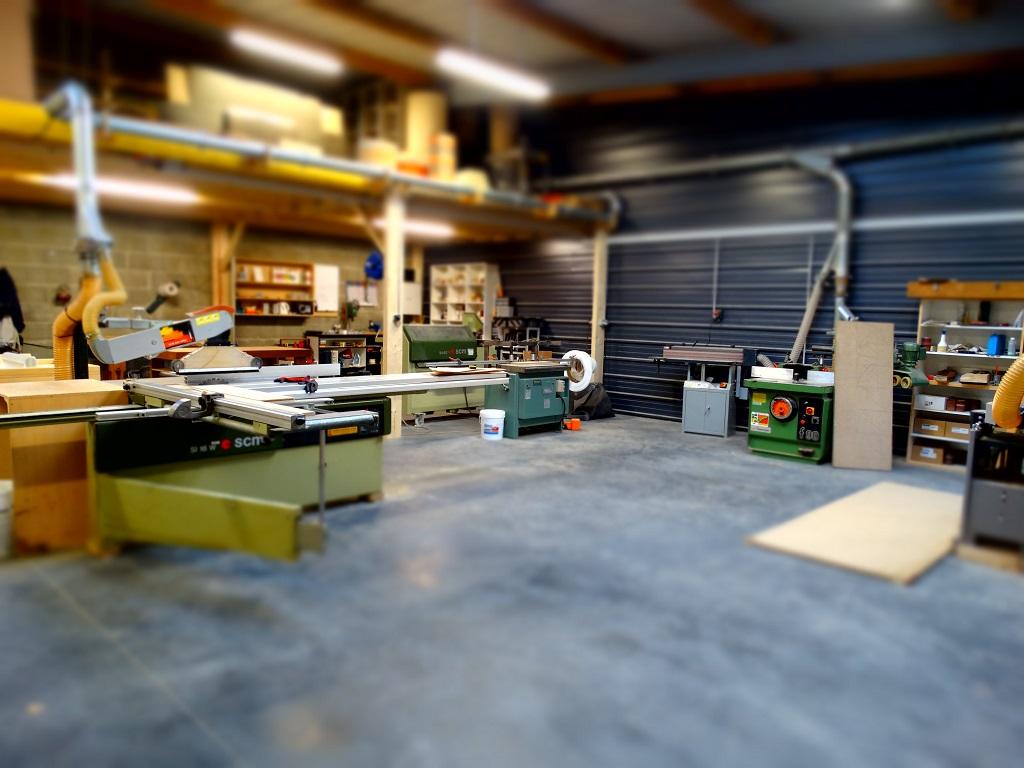 Atelier de fabrication - L'ATELIER 1053