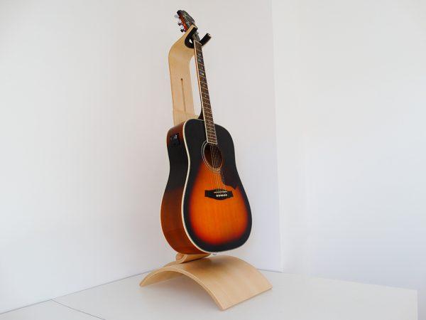 Support guitare en bois de hêtre