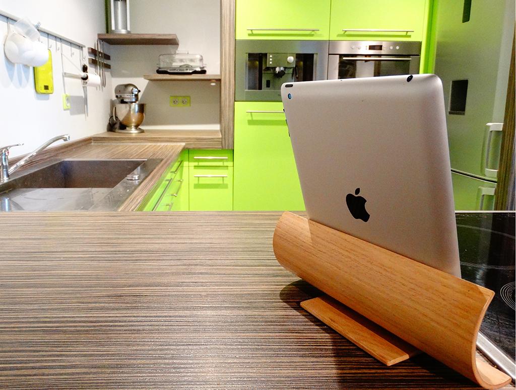 SUPPORT TABLETTE EN BOIS CINTRE V1 1 - Support tablette en bois cintré V1