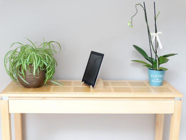 SUPPORT TABLETTE EN BOIS CINTRE V2 2 600x450 - Support tablette en bois cintré V2