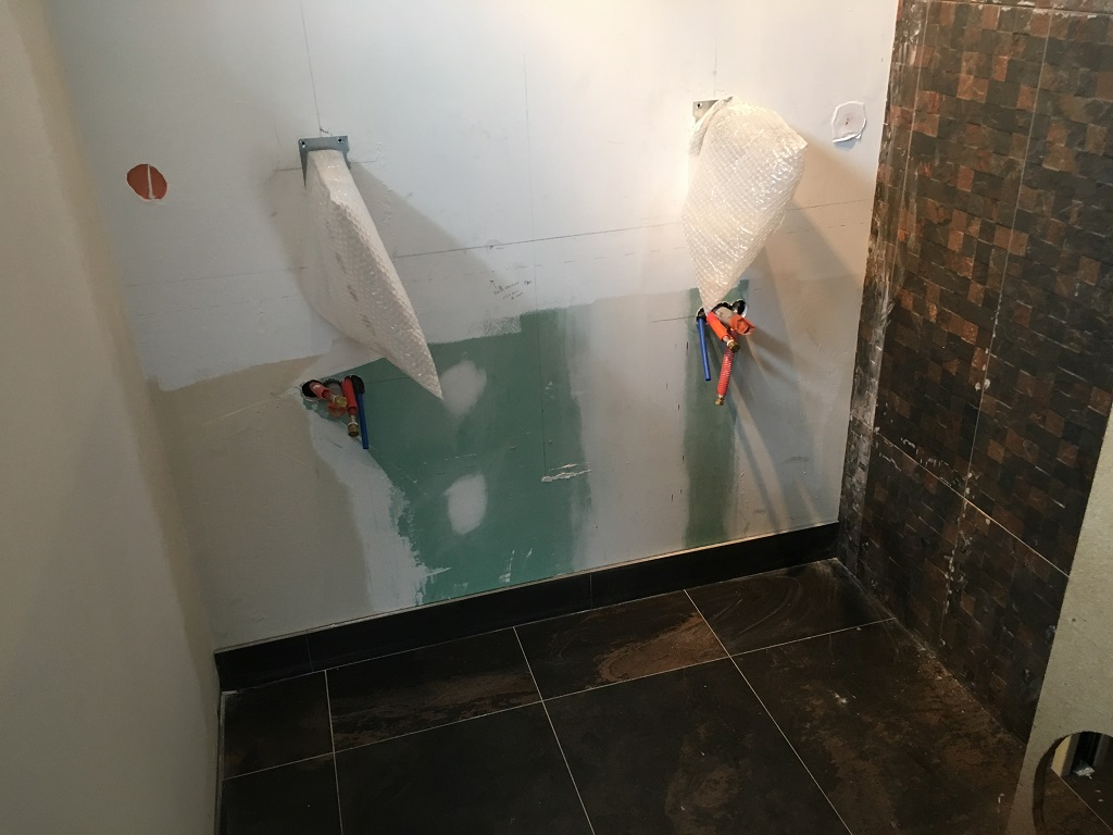 Emplacement vasque salle deau - Salle d'eau Acajou