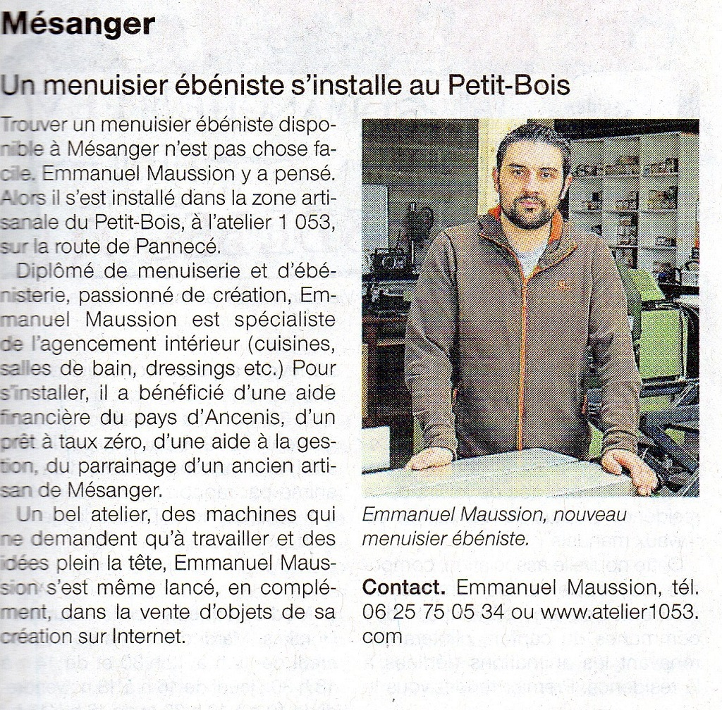 1 ouest france 16022016 - PRESSE