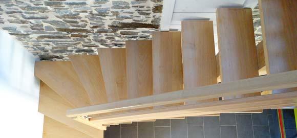 escalier artisanal - L'Atelier 1053