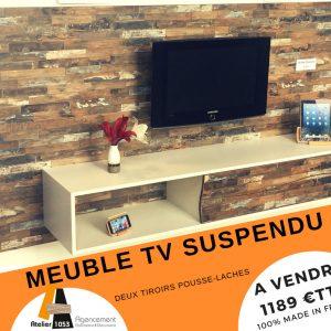 MEUBLE TV SUSPENDU ORIGINAL
