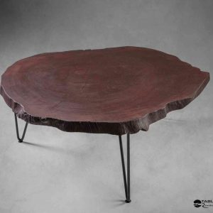 Table basse en tronc de platane