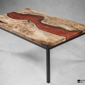 Table basse artisanale française par Atelier 1053