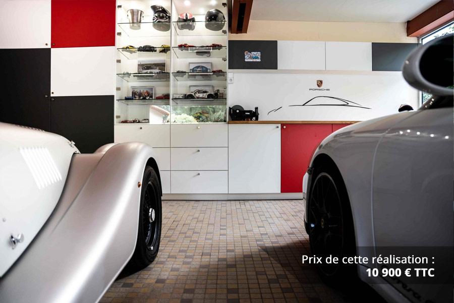 agencement garage passionne porsche img 5 - Agencement garage passionné Porsche