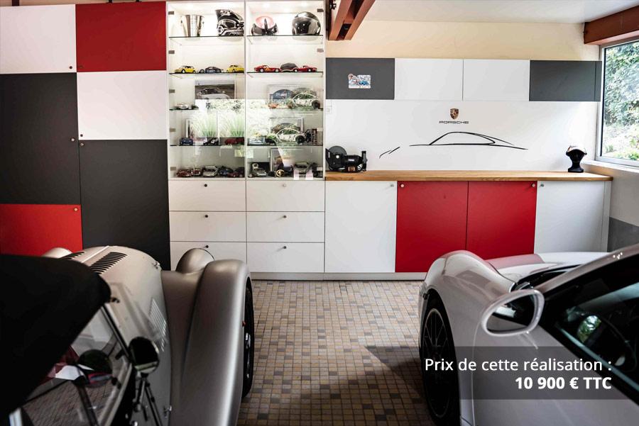 agencement garage passionne porsche img 6 - Agencement garage passionné Porsche