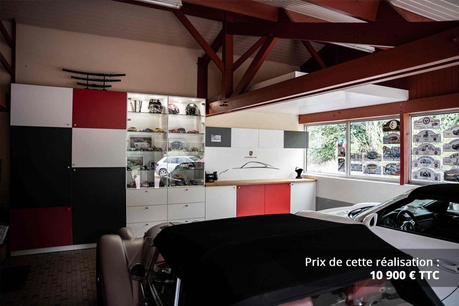 agencement garage passionne porsche img 7 - Agencement garage passionné Porsche