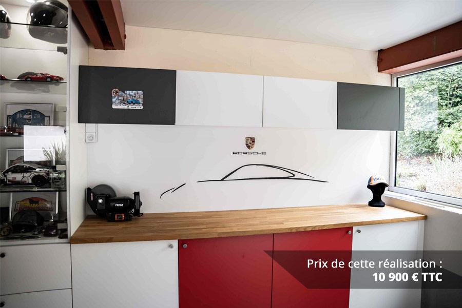 agencement garage passionne porsche img 8 - Agencement garage passionné Porsche