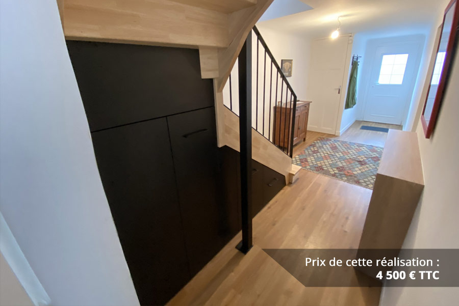 agencement sous escalier img 1 - Agencement sous escalier