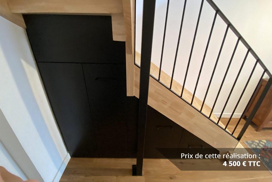 agencement sous escalier img 3 - Agencement sous escalier
