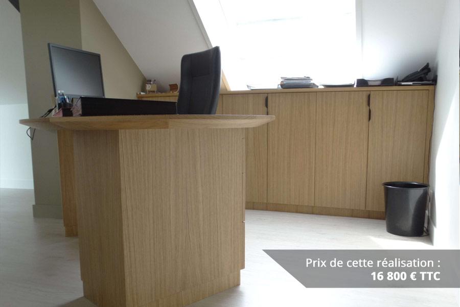 bureau original mairie en bois zebrano et chene img 10 - Bureau original mairie en bois zebrano et chêne