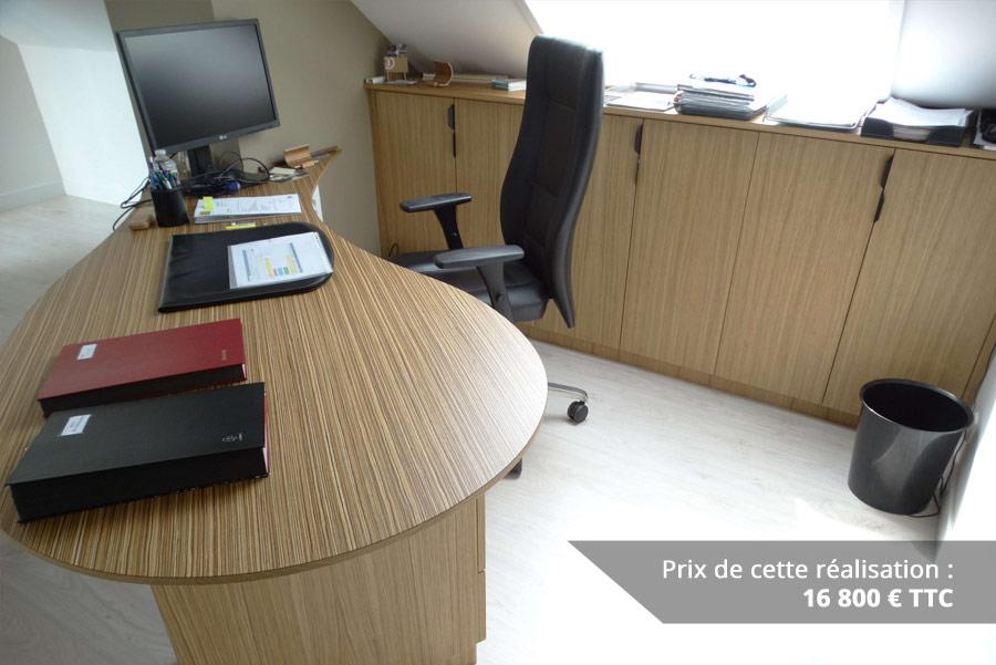 bureau original mairie en bois zebrano et chene img 11 - Bureau original mairie en bois zebrano et chêne