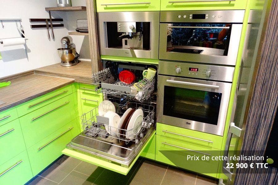 cuisine sur mesure laquee vert img 5 e1608046138464 - Cuisine sur mesure laquée vert