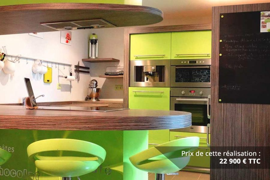 cuisine sur mesure laquee vert img 7 e1608046153791 - Cuisine sur mesure laquée vert
