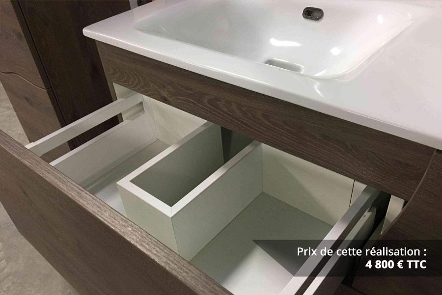 salle de bains a vagues en chene fonce img 5 - Salle de bains à vagues en Chêne foncé