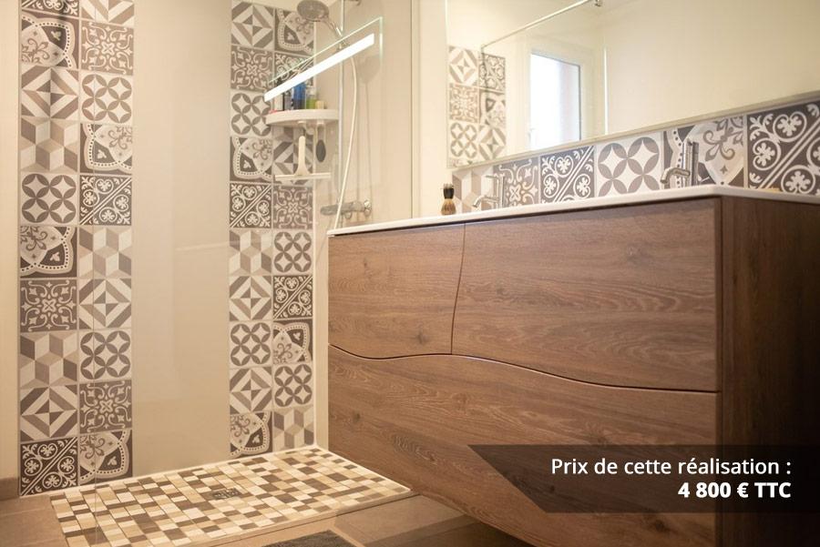 salle de bains a vagues en chene fonce img 8 - Salle de bains à vagues en Chêne foncé