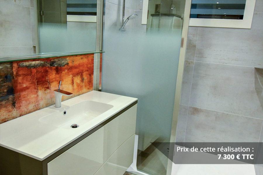 salle de bains contemporaine aux lignes courbees img 3 - Salle de bains contemporaine aux lignes courbées