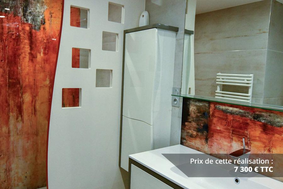 salle de bains contemporaine aux lignes courbees img 4 - Salle de bains contemporaine aux lignes courbées