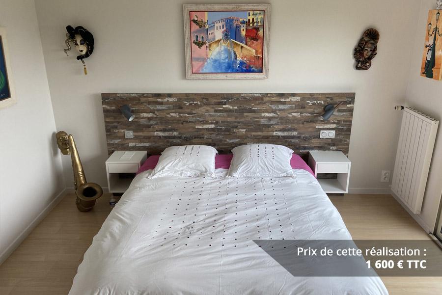 tete de lit decor bois img 1 - Tête de lit décor bois