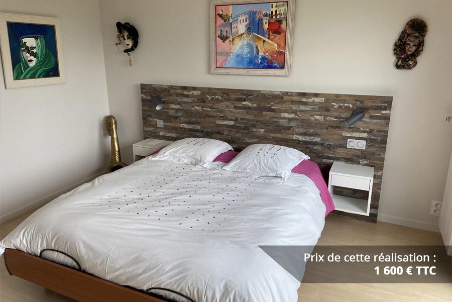tete de lit decor bois img 2 - Tête de lit décor bois