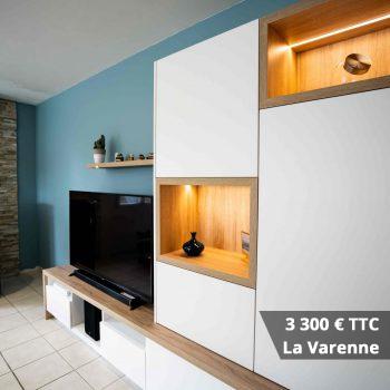 3300 La Varenne - Conseil aménagement séjour-salon