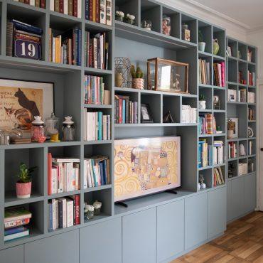 154 370x370 - Bibliothèque contemporaine et Meuble TV
