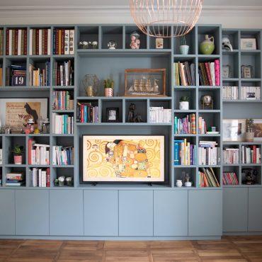 155 370x370 - Bibliothèque contemporaine et Meuble TV