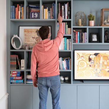 159 370x370 - Bibliothèque contemporaine et Meuble TV