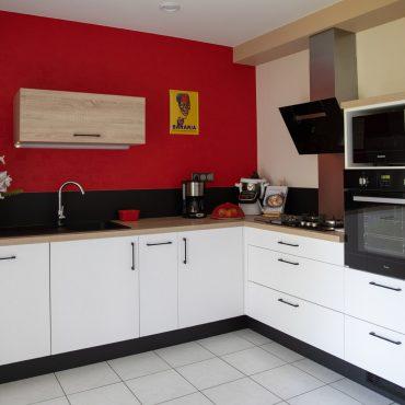 42 370x370 - Cuisine blanc et plan de travail bois