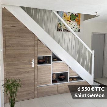 6550 saint gereon - Meuble sous pente sur mesure