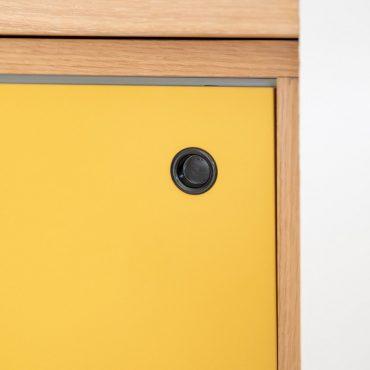 67 370x370 - Claustra en Chêne et meuble entrée avec niches