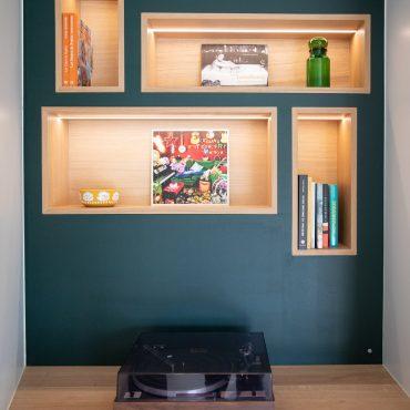 68 370x370 - Claustra en Chêne et meuble entrée avec niches