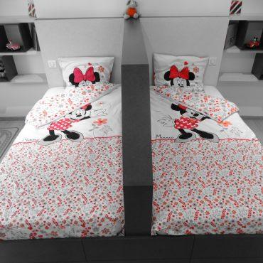 Chambre Minnie 370x370 - Lit enfant & espace bureau