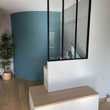 IMG 0082 370x370 - Verrière noire avec meuble bas de rangement