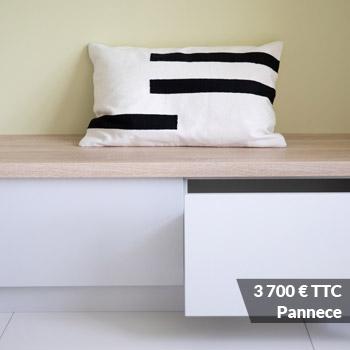 PANNECE 3700 - Conseil aménagement entrée