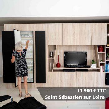 11900 saint sebastian p61p5hxvfgrlg1sxbo8u436wtvu1h28lrr71jfy0bw - Bibliothèque sur mesure salon bois blanc noir