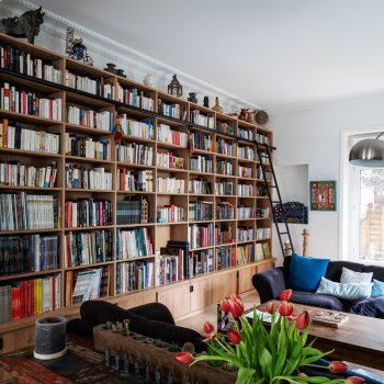 bibliothèque sur mesure à Ancenis